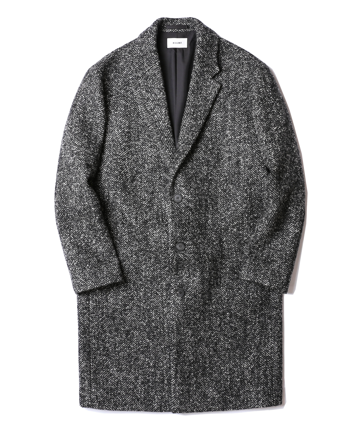 Solist Oversize Coat (Herringbone)