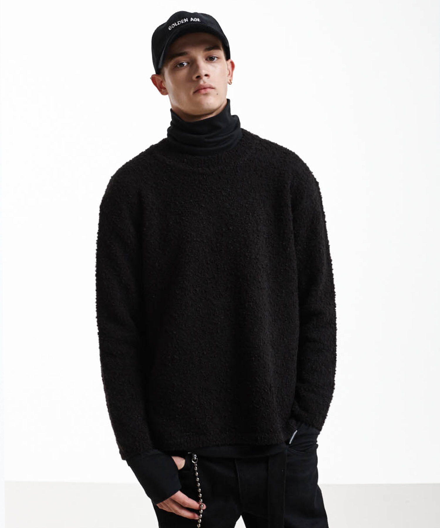 Warmer Turtle Neck (Black)