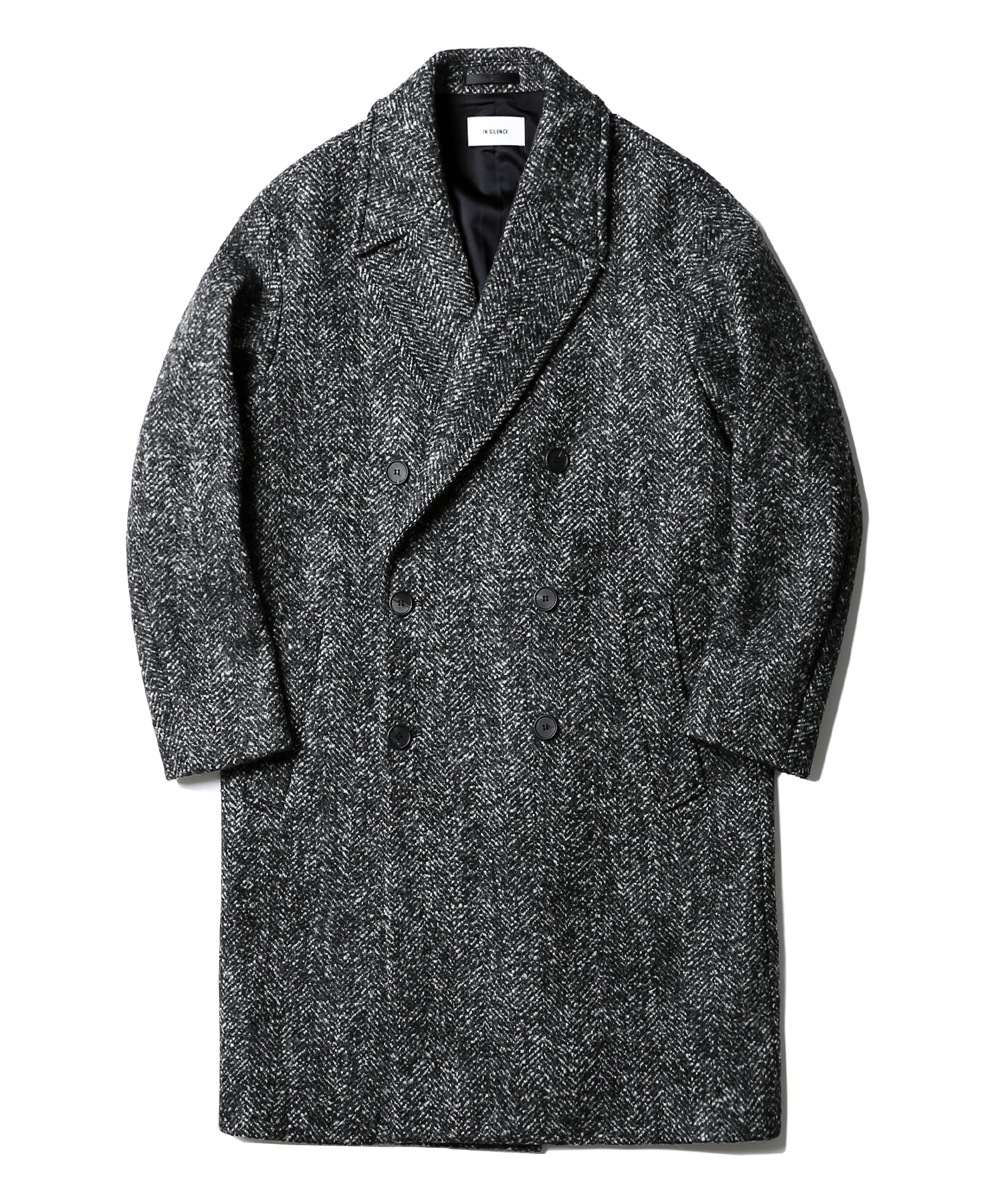Double Oversize Coat (Herringbone)