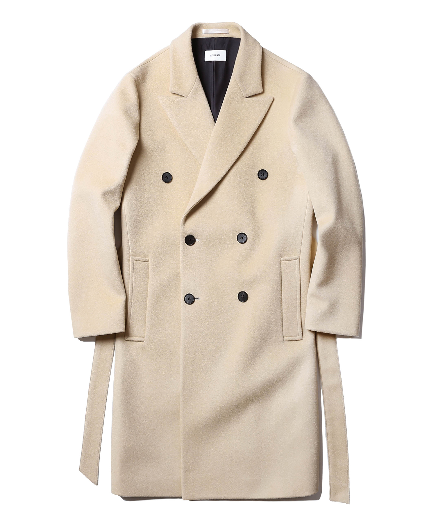 Double Cashmere Coat (Beige)