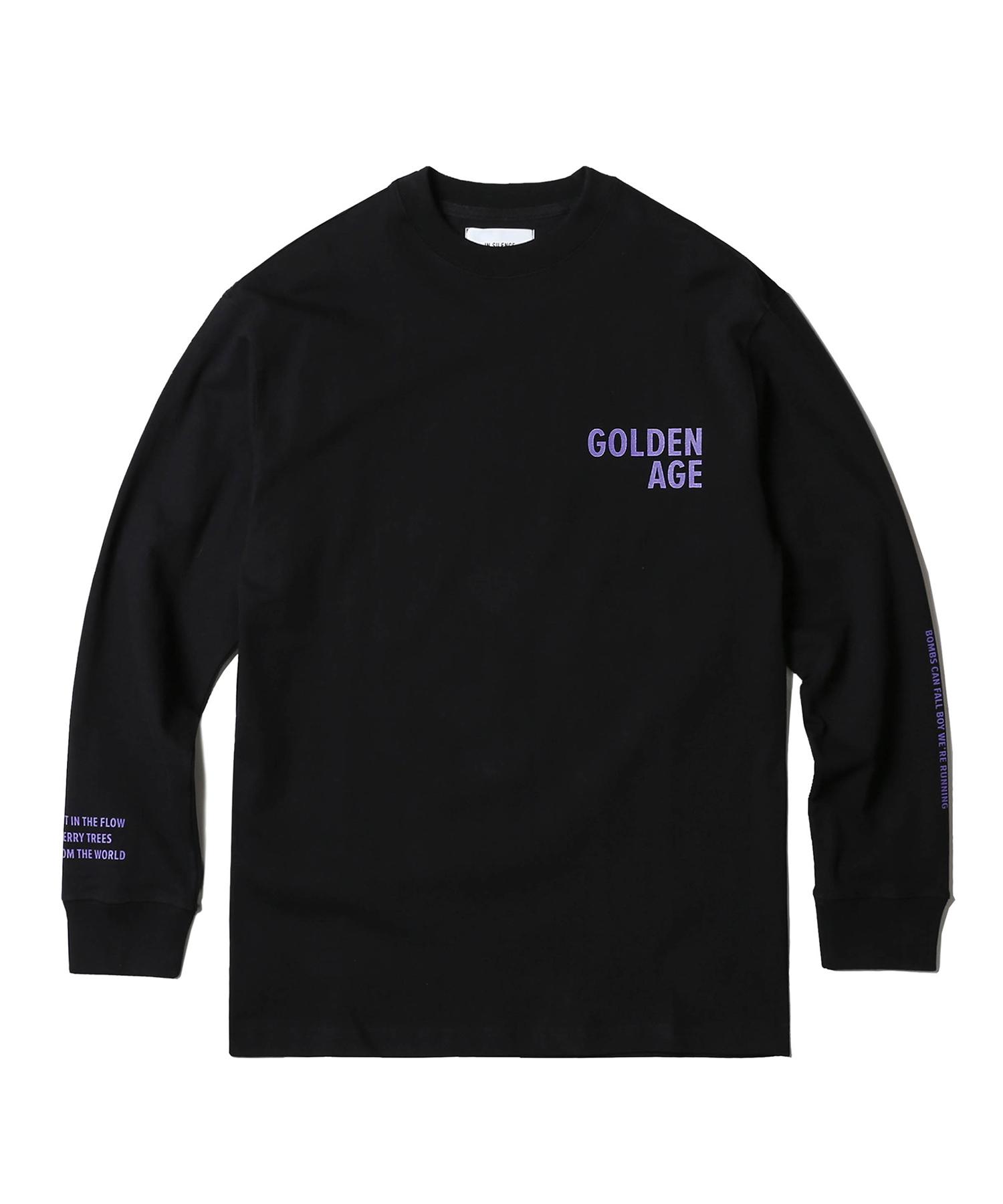 GA Long Sleeve Tee (Black)