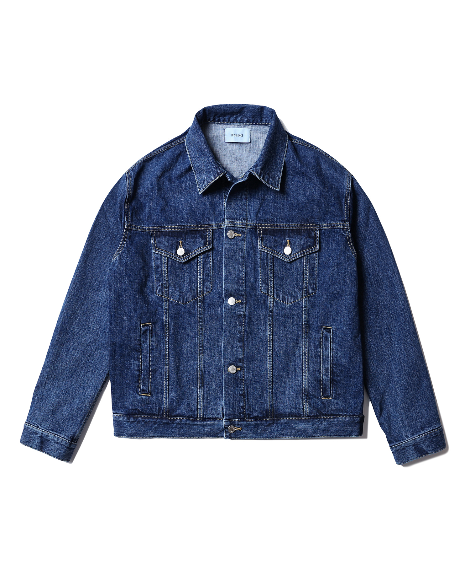 Oversized Denim Jacket (Blue)