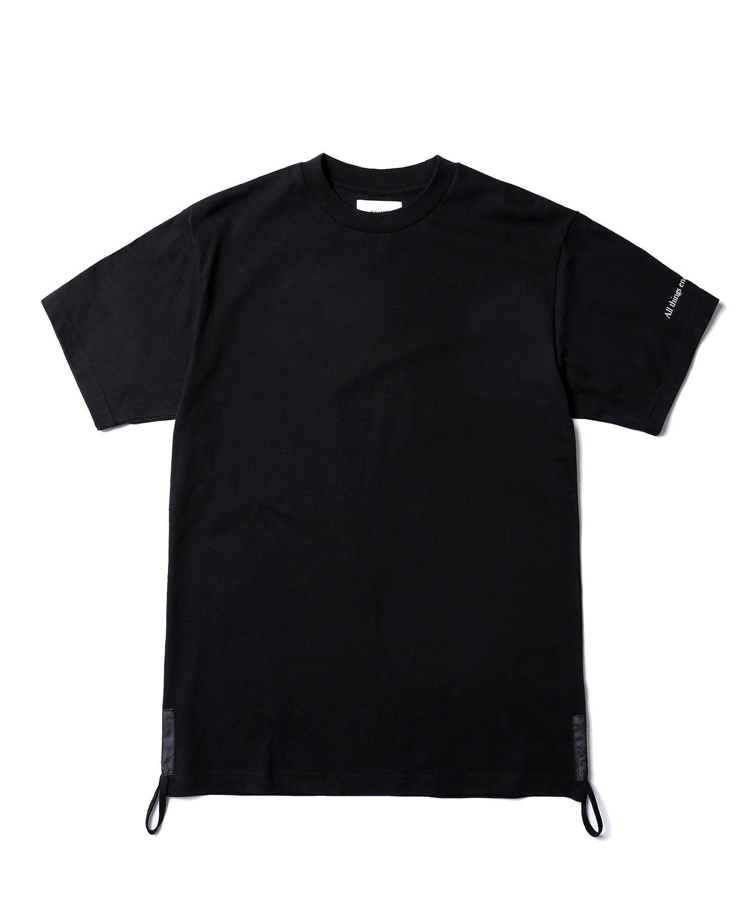 Side String Tee (Black)
