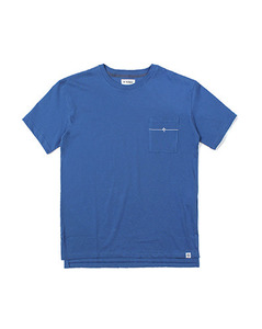 VU POCKET TEE (BLUE)