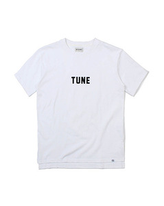 TUNE LOOSE FIT TEE (WHITE)