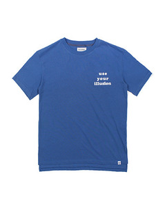 USE LOOSE FIT TEE (BLUE)