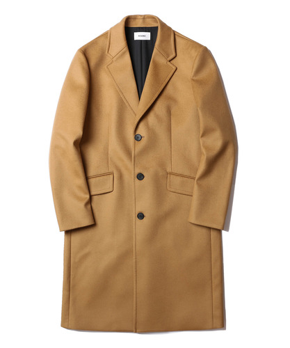 Chester Cashmere Coat (Camel)