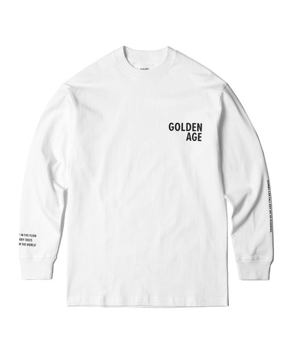 GA Long Sleeve Tee (White)