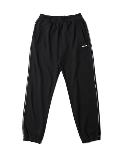 Piped Jogger Pants (Black)