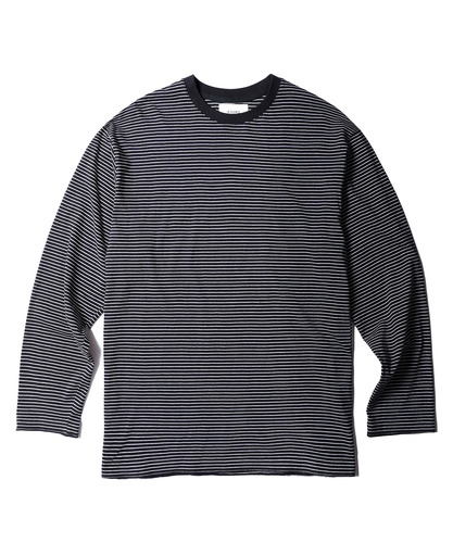 Stripe Long Sleeves (Black)