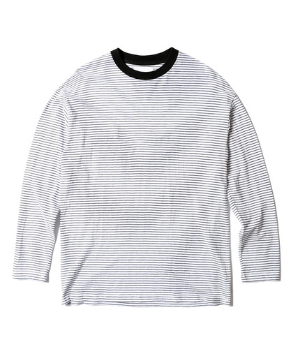 Stripe Long Sleeves (White)