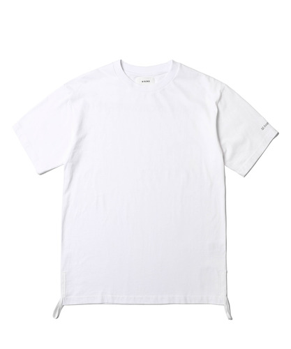 Side String Tee (White)