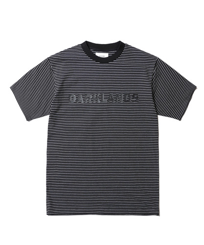 Darkland Stripe Tee (Black)