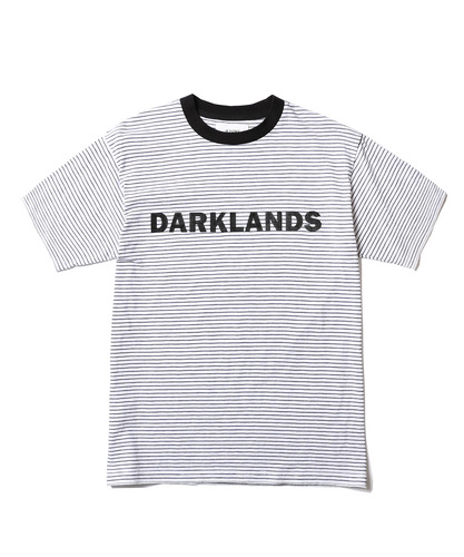 Darkland Stripe Tee (White)