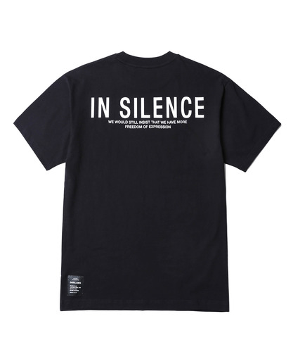 In Silence Logo Tee (Black)