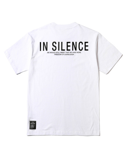 In Silence Logo Tee (White)