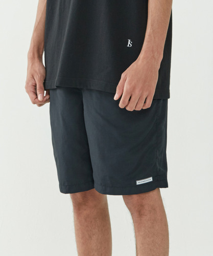 Silence Lounge Shorts (Black)