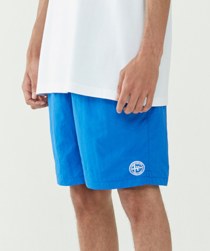 Emblem Lounge Shorts (Blue)