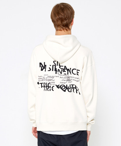 Slice Logo Hoodie (Off White)