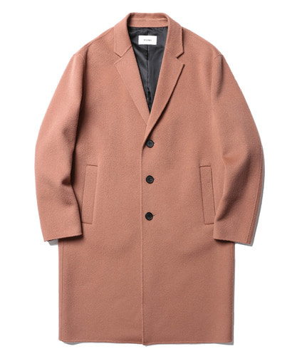 17FW Lydian Handmade Cashmere Coat Pale (Pink)